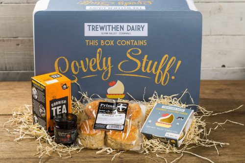 Cornish Cream Tea for Two Hamper