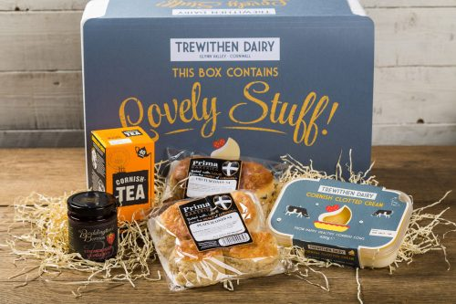 Large Cornish Cream Tea Hamper