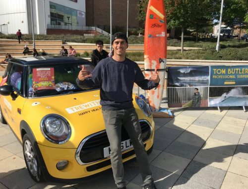 TOM BUTLER JOINS TREWITHEN DAIRY'S STREET SURF CONTEST