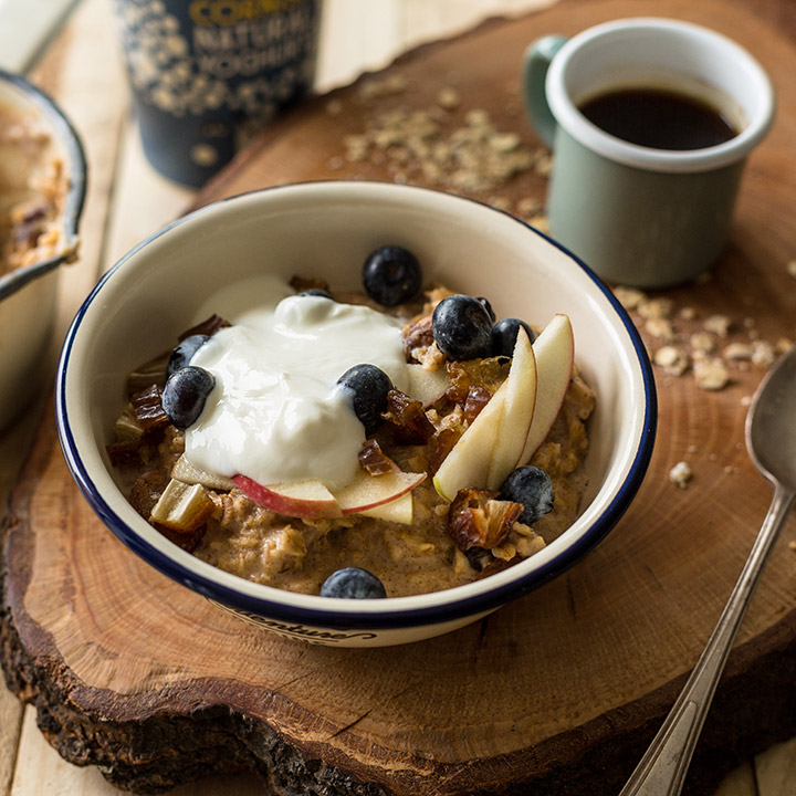 NORDIC SPICED PORRIDGE