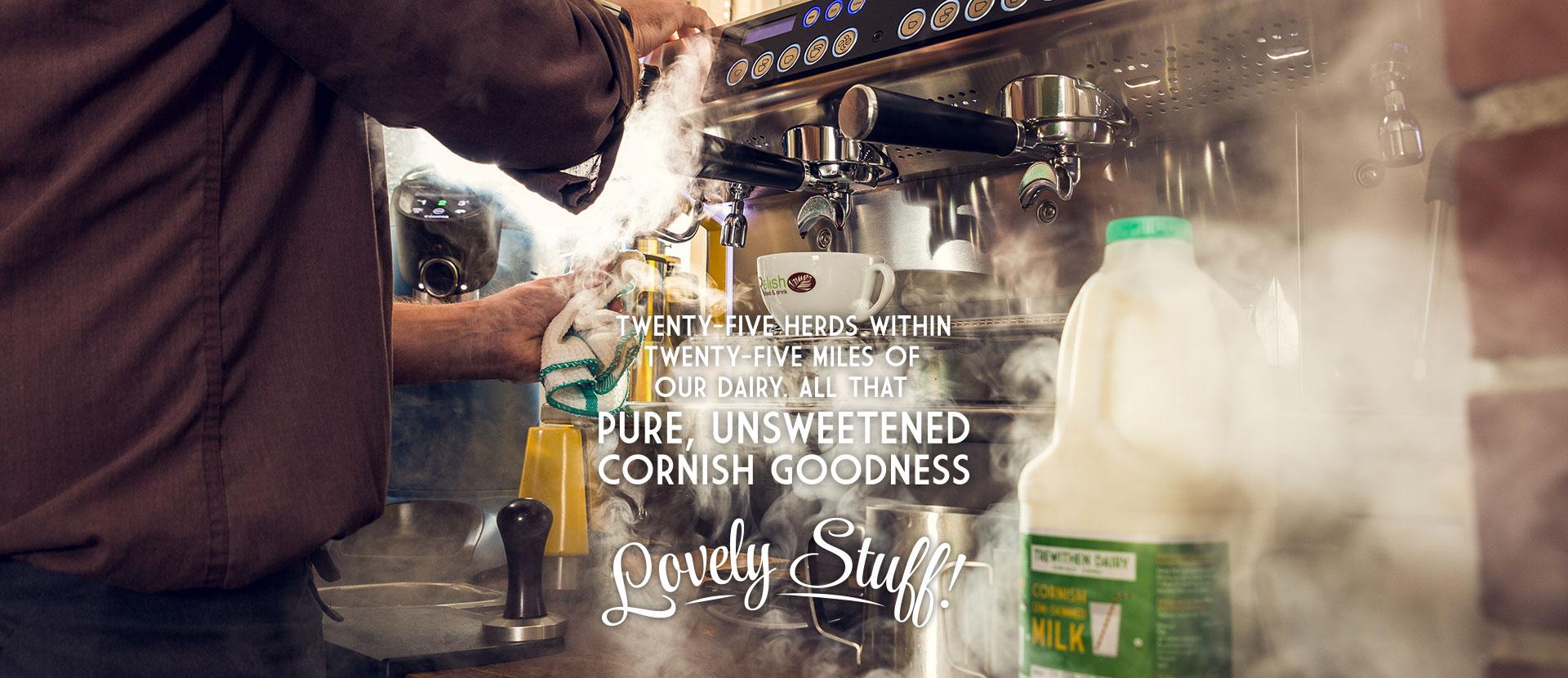 Trewithen Dairy milk