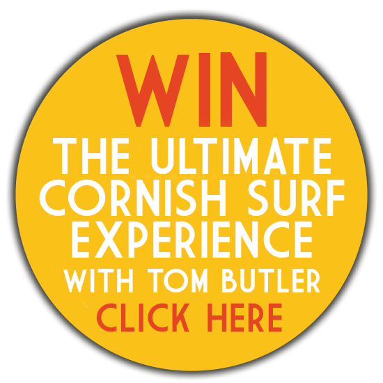WIN The Ultimate Cornish Surf Experience with Tom Butler