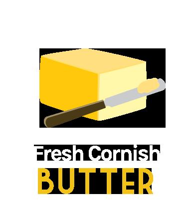 fresh cornish butter
